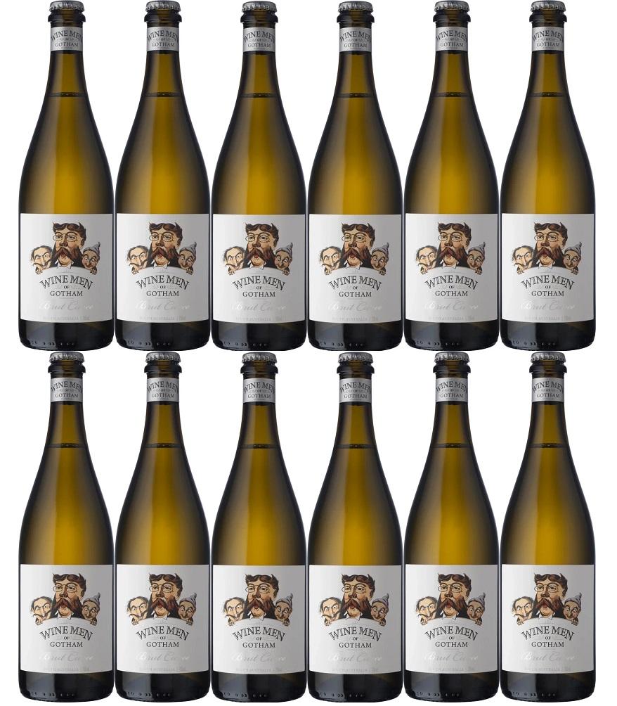 [12本セット] ワイン・メン・オブ・ゴッサム・ブリュット・キュヴェ (ゴッサム・ワインズ) Wine Men of Gotham Brut Cuvee [現行ヴィンテージ] (Gotham Wines) 白/辛口/スパークリング・発泡性/王冠キャップ/オーストラリア/ 750ml×12本