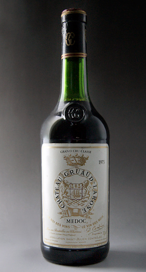Médoc Grand Cru Chateau Gruma Larose [1973], Classe, rating no. 2 luxury Chateau Gruaud Larose [1973] super rare old wine!