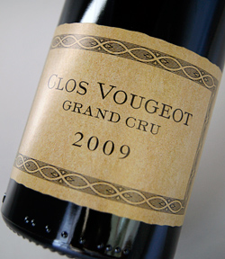 It is Clos Vougeot [2009] (Charlopin) (Charlot Bakery) black ヴージョ [2009]