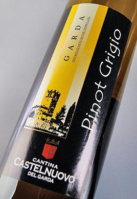 Pinot Grigio Cantina カステルヌォーヴォ Sirmione PINOT GRIGIO (CANTINA CASTELNUOVO DEL GARDA )