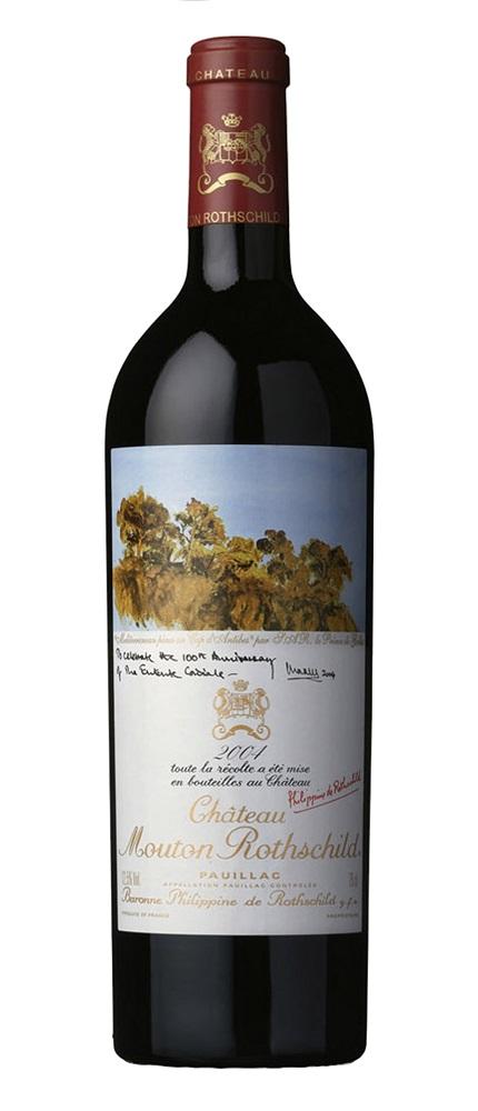 シャトー・ムートン・ロートシルト [2004] Chateau Mouton Rothschild [2004] 【赤 ワイン】【フランス】【ボルドー】