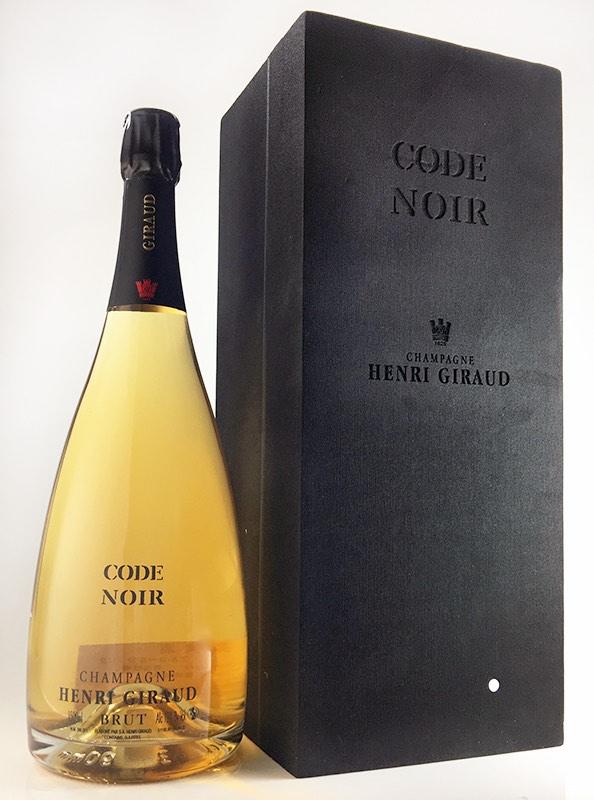 コード・ノワール [NV] (アンリ・ジロー) ギフトBOX入り 1,500ml マグナムサイズ Code Noir [NV] (Henri Giraud) Gift Box 1,500ml Magnum size【シャンパーニュ】 【シャンパーニュ スパークリング】