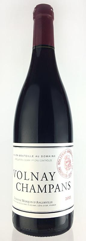 ヴォルネイ プルミエ・クリュ シャンパン [2012] (ドメーヌ・マルキ・ダンジェルヴィーユ)Volnay 1er Cru les Champans [2012] (Domaine Marquis D'Angerville ) 【赤 ワイン】