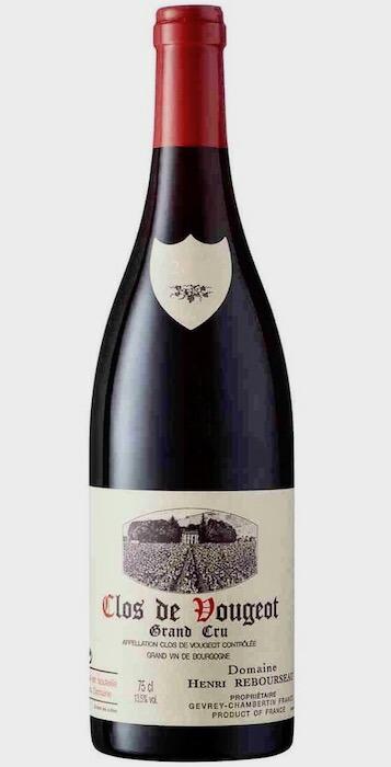 クロ・ド・ヴージョ グラン・クリュ [2016] (ドメーヌ・アンリ・ルブルソー) Clos de Vougeot Grand Cru [2016] (Domaine Henri Rebourseau) 【赤 ワイン】【フランス ブルゴーニュ コート・ド・ニュイ ウ゛ージョ】