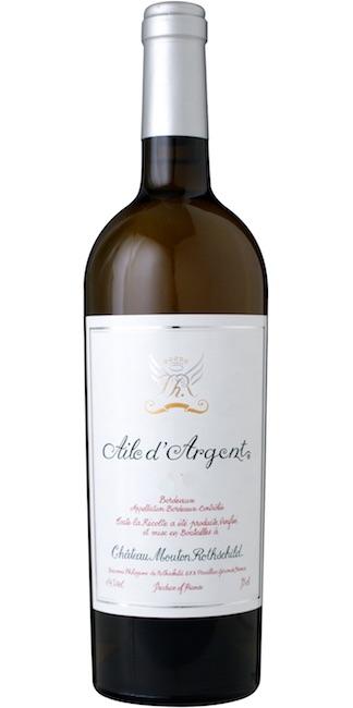 【6本~送料無料】エール・ダルジャン [2015] シャトー・ムートン・ロートシルト元詰Aile d'Argent [2015] Chateau Mouton Rothschild AOC Bordeaux Blanc 【白 ワイン】