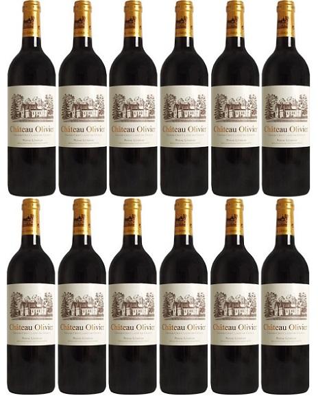 【送料無料】シャトー・オリヴィエ・ルージュ [2004] 12本セットChateau Olivier Rouge [2004] 12bottles 【赤 ワイン】【フランス ボルドー】