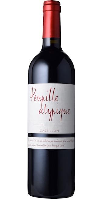 【よりどり6本以上送料無料商品】プピーユ アティピック [2014] AOCカスティヨン・コート・ド・ボルドー Poupille Atypique [2014] AOC Cotes de Castillon 【赤 ワイン フランス ボルドー コート・ド・ボルドー AOCカスティヨン・コート・ド・ボルドー】