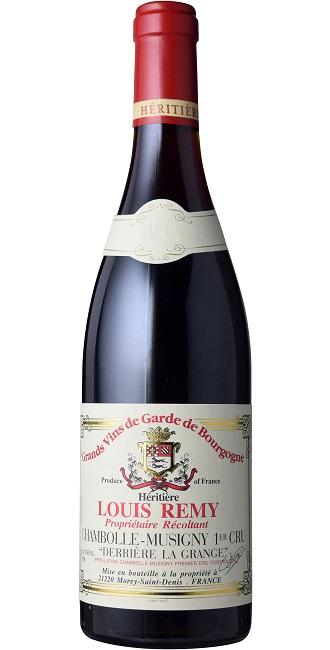 【期間限定】 【6本~送料無料 ワイン】】シャンボル・ミュジニー プルミエ・クリュ デリエール [1998]・ラ・グランジュ [1998] la (ドメーヌ・ルイ・レミー) Chambolle Musigny1er Cru Derriere la Grange [1998] (Domaine Louis Remy)【赤 ワイン】, 児玉町:1985c657 --- 3crosses.ca