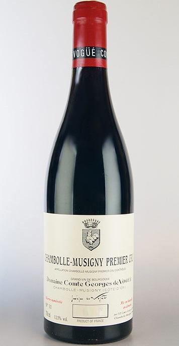 シャンボール・ミュジニー・プルミエ・クリュ [2011] (コント・ジョルジュ・ド・ヴォギュエ) Chambolle Musigny 1er Cru [2011] (Comte Georges de Vogue) 【赤 ワイン】