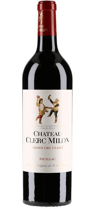 シャトー・クレール・ミロン [2017] Chateau Clerc Milon [2017] 【赤ワイン フランス ボルドー オー・メドック AOCポイヤック メドック 第5級格付】