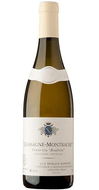 シャサーニュ・モンラッシェ プルミエ・クリュ ブードリオット ブラン [2017] (ドメーヌ・ラモネ) Chassagne Montrachet 1er Cru Boudriotte Blanc [2017] (Domaine Ramonet) 白ワイン/750ml