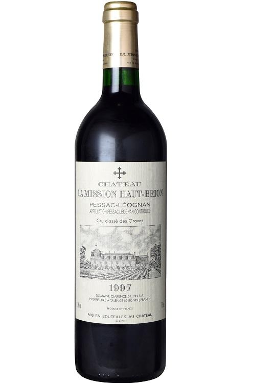 シャトー・ラ・ミッション・オー・ブリオン [1997] Chateau La Mission Haut Brion [1997] 超希少 古酒 【赤 ワイン フランス ボルドー グラーヴ ペサック・レオニャン AOCペサック・レオニャン】