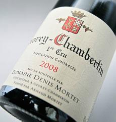 Gevrey-Chambertin 1er Cru [2008] Domaine Denis,'s time Gevrey-Chambertin 1er Cru [2008] (Domaine Denis Mortet)