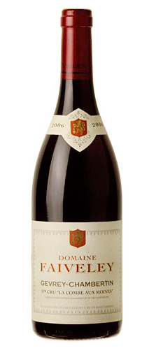 ジュヴレ・シャンベルタン プルミエ・クリュ ラ・コンブ・オー・モワンヌ [2008] (フェヴレ) Gevrey Chambertin 1er Cru la Combe aux Moines [2008] (Faiveley) 【赤 ワイン】