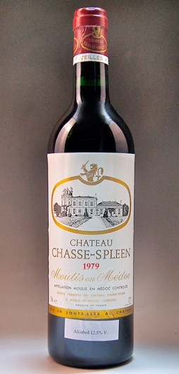 Chateau Shas spring [1979] Chateau Chasse Spleen [1979]