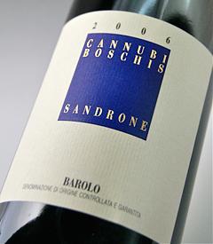 Barolo can Nuvi boskie (Luciano sandrone) Barolo Cannubi Boschis (Luciano Sandrone)
