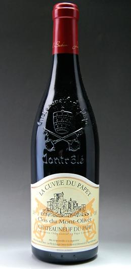 Châteauneuf-du-Pape cuvée-Pape-du-Mont-Olivet, Clos, Chateauneuf du Pape Cuvee du Papet (Clos du Mont Olivet)