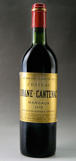 Old wine Chateau brane cantenac [1975] Chateau Brane Cantenac [1975] super rare