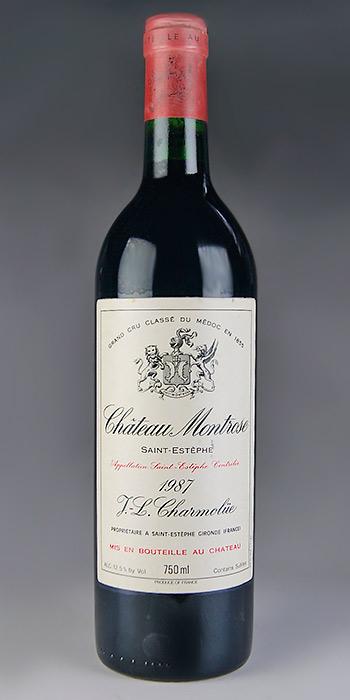 2018新発 シャトー・モンローズ [1987] メドック格付第2級 AOCサンテステフ Chateau Montrose [1987] 【赤 ワイン】, BIRTHDAY ONLINE 34754939