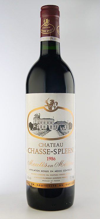 Chateau Shas spring Chateau Chasse Spleen