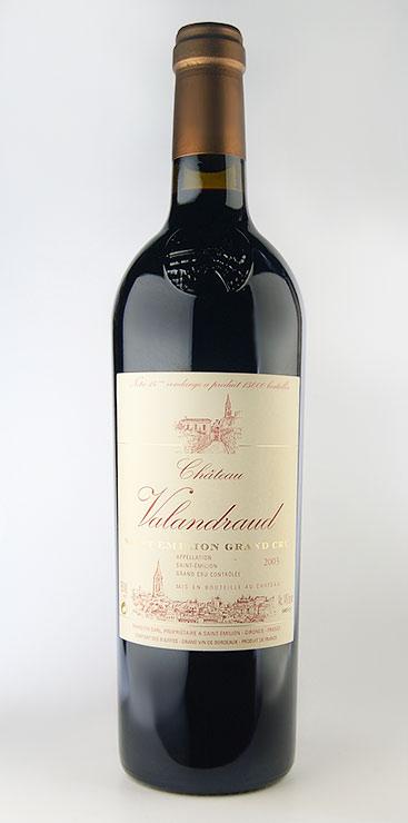 【6本~送料無料】シャトー・ヴァランドロー [2012] AOCサンテミリオン・グラン・クリュ Chateau Valandraud [2012] AOC Saint Emilion Grand Cru 【赤 ワイン】