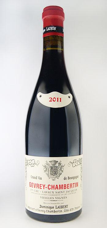 ジュヴレ/샘 벨 템플 미/크 ラヴォー 샌 트 잭 ヴィエイユ/ヴィーニュ [2011] (도미 닉/로 랑) Gevrey Chambertin 1er Cru Lavaux St Jacques Vieilles Vignes [2011] (Dominique LAURENT)