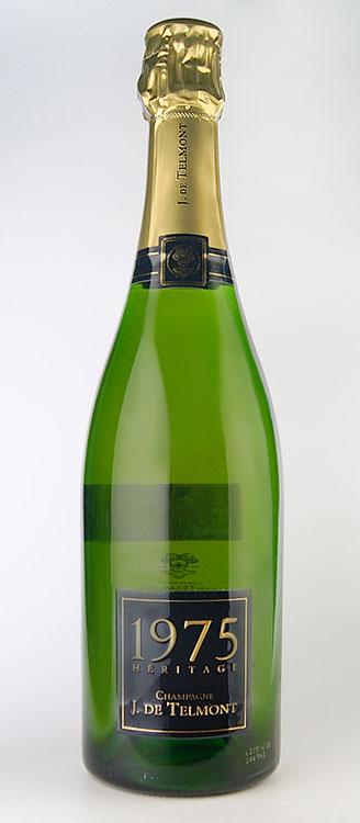 ヘリテージ ブリュット ミレジム [1976] (J(ジ)・ド・テルモン) Heritage Brut Millesime [1976] (J.De Telmont) 【スパークリング ワイン】【シャンパーニュ】