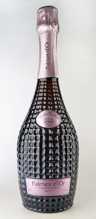 "Cuvee ""Palme d'Or"" Brut Rosé vintage [2005] (Nicolas feuillatte) Cuvee Palmes d ' Or Brut Rose Millesime [2005] (Nicolas Feuillatte)"