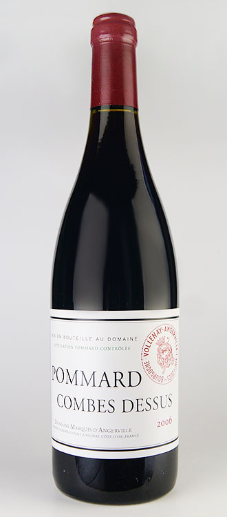 ポマール プルミエ・クリュ コンブ・デュシュ [2008] (ドメーヌ・マルキ・ダンジェルヴィーユ) Pommard 1er Cru Comes du Dessus [2008] (Domaine Marquis D'Angerville) 【赤 ワイン】