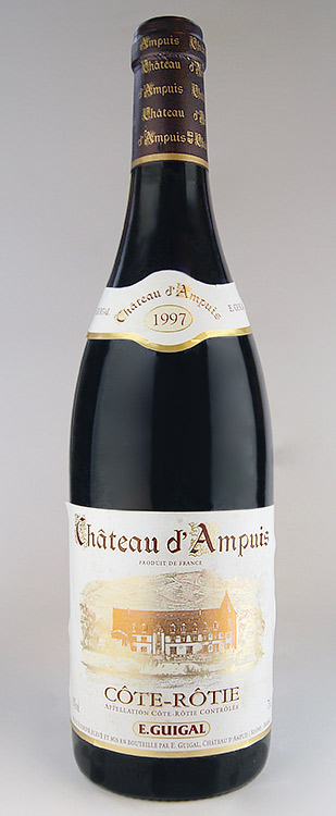 スペシャルオファ コート・ロティ シャトー・ダンピュイ [1998] (E.ギガル) Cote Rotie Chateau d`Ampuis [1998] (E.Guigal) 【赤 ワイン】【フランス】【コート・デュ・ローヌ】, びーちのーす ea68da74