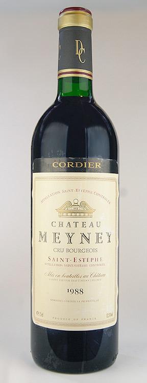 샤 메이 네 [1988] AOC サンテステフ/크 뤼 부르주아 Chateau Meyney [1988] AOC Saint Estephe Cru Bourgeois