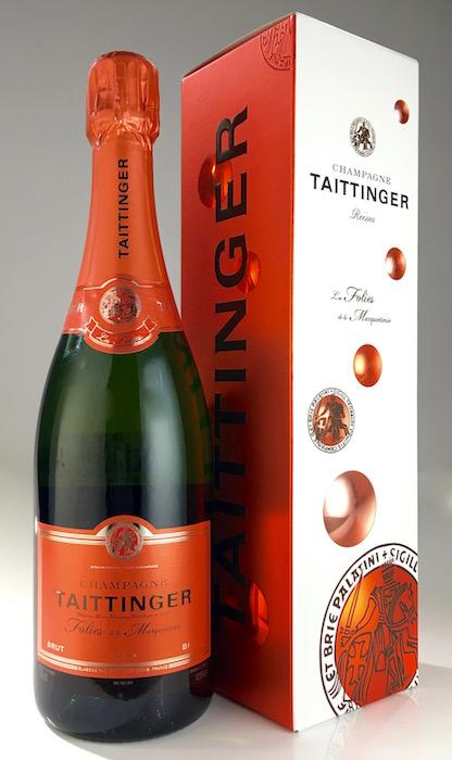 """テタンジェシャンパーニュ """"レ フォリ ド ラ Marquette Lee"""" ブリュット (テタンジェ) TAITTINGER Champagne """"Les Folies de la Marquetterie"""" Brut NV (Taittanger)"""