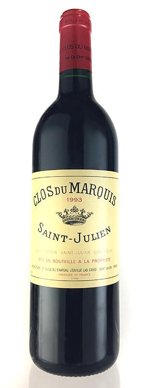 クロ・デュ・マルキ [1993] メドック格付第2級 AOCサン・ジュリアン Clos du Marquis [1993] AOC Saint Julien 【赤 ワイン】