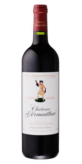 【よりどり6本以上送料無料商品】シャトー・ダルマイヤック [2011] AOCポイヤック・メドック格付第5級 Chateau d'Armailhac [2011] AOC Pauillac 【赤 ワイン】