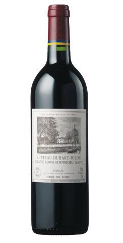 【6本~送料無料】シャトー・デュアール・ミロン・ロートシルト [2014] AOCポイヤック・メドック格付第4級Chateau Duhart Milon Rothschild [2014] AOC Pauillac 【赤 ワイン】