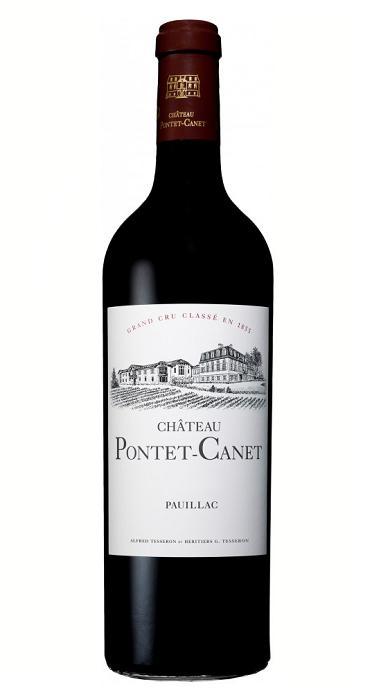 【6本~送料無料】シャトー・ポンテ・カネ [2007] AOCポイヤック メドック格付第5級 Chateau Pontet Canet [2007] AOC Pauillac 【赤 ワイン】【フランス】【ボルドー】