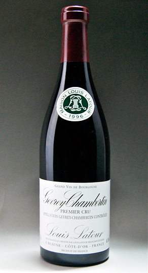It is Gevrey Chambertin 1er Cru [1996] (Louis Latour) ジュブレ Chambertin pull Mie cru [1996] (Louis La Tour)