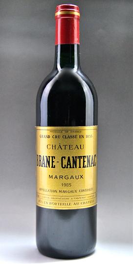 성・브라누・칸트낙크[1985] AOC 마르고・메독격부 제 2급 Chateau Brane Cantenac [1985] AOC Margaux