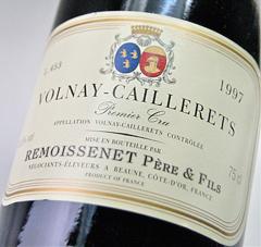 보르네이프르미에・크류 조개 유레[1997] (르모와스네・페일・에・피스) Volnay 1 er Cru Caillerets [1997] (Remoissenet Pere et Fils)