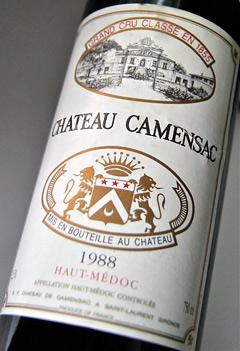 Chateau camansack [1988] Chateau Camensac [1988]