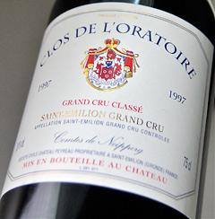 Château Clos de rolatworl [1997] Chateau Clos de L ' Oratoire [1997]
