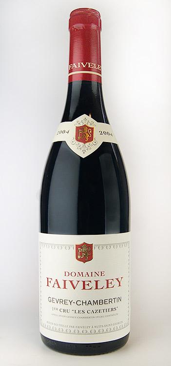 ジュヴレ・シャンベルタン プルミエ・クリュ レ・カズティエ [2011] (フェヴレ) Gevrey Chambertin 1er Cru Les Cazetiers [2011] (Faiveley) 【赤 ワイン】