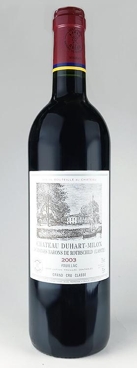 いいスタイル シャトー・デュアール・ミロン [2003] AOCポイヤック・メドック格付第4級 Chateau Duhart Milon Rothschild [2003] AOC Pauillac 【赤 ワイン】, 格安封筒印刷のバーディー 22bcafb2