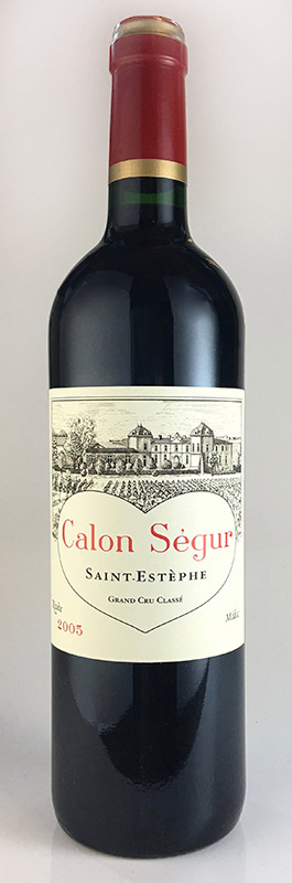 注目の シャトー・カロン・セギュール [2002] AOCサン・テステフ メドック格付第3級 Chateau Calon Segur [2002] AOC Saint Estephe 【赤 ワイン】, きもの屋三鈴 e61c7b13