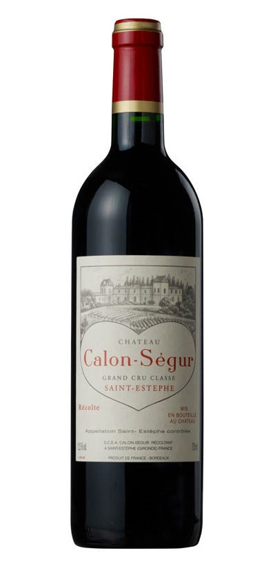 シャトー・カロン・セギュール [2000] AOCサン・テステフ メドック格付第3級 Chateau Calon Segur [2000] AOC Saint-Estephe 【赤 ワイン】