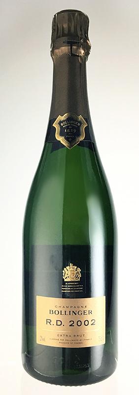ボランジェ R.D. [2002] (ボランジェ) Bollinger RD [2002] (Bollinger) 【シャンパーニュ】【スパークリング ワイン】