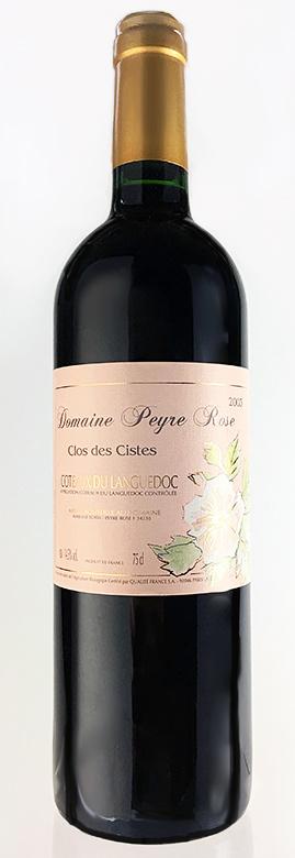 キュヴェ クロ・デ・シスト [2002] (ドメーヌ・ペイル・ローズ) Cuvee Clos des Ciste [2002] (Domaine Peyre Rose) 【赤 ワイン】