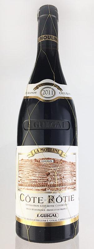 コート・ロティ ラ・ムーリーヌ [2011] (E.ギガル) Cote Rotie La Mouline [2011] (E.Guigal) 【赤 ワイン】【フランス】【コート・デュ・ローヌ】