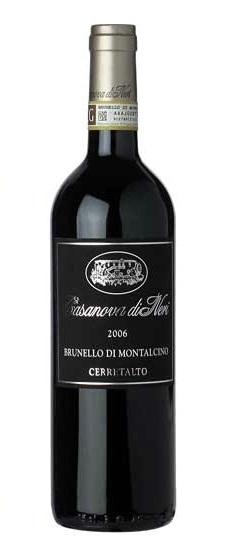 Brunello di Montalcino チェッレタルト (カサノヴァ・ディ・ネリ) Brunello di Montalcino Cerretalto (Casanova di Neri)