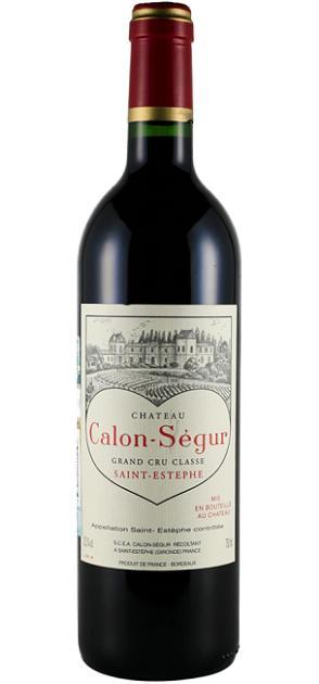 【6本~送料無料】シャトー・カロン・セギュール [2006] AOCサン・テステフ メドック格付第3級 Chateau Calon Segur [2006] AOC Saint-Estephe 【赤 ワイン】